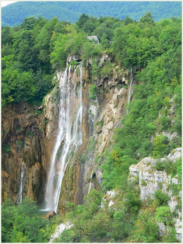 Der große Wasserfall ...