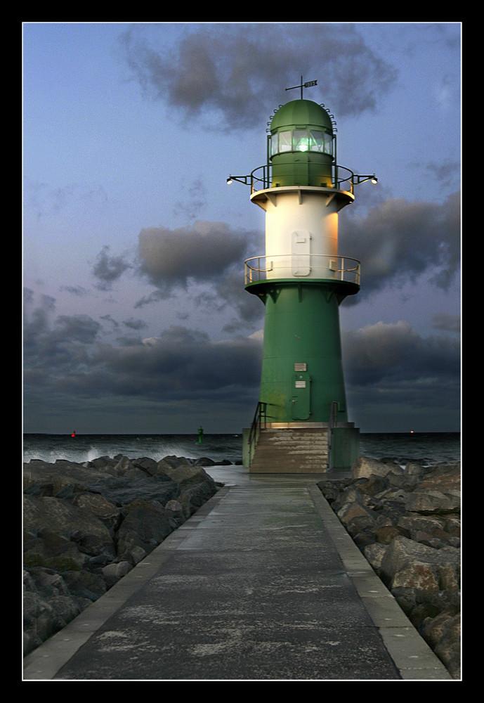 Der grüne Leuchtturm