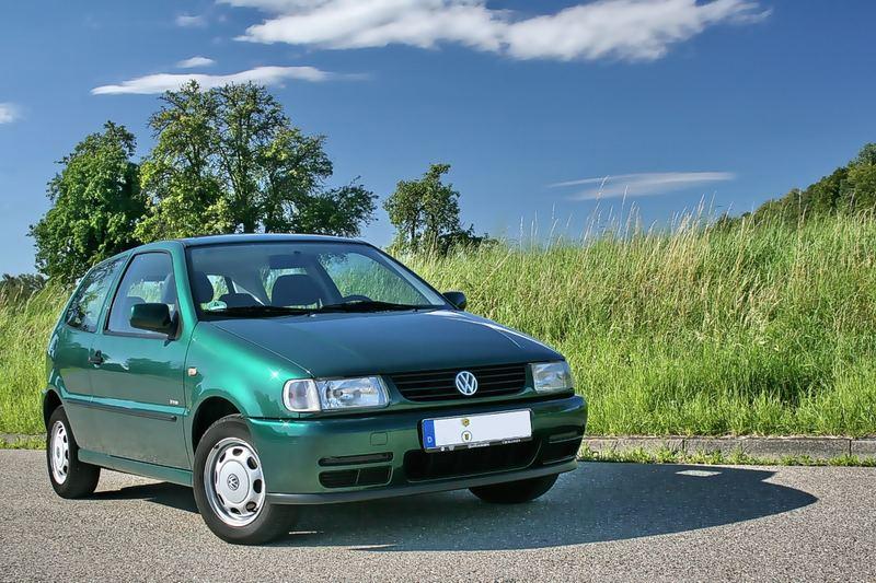 Der grüne Polo
