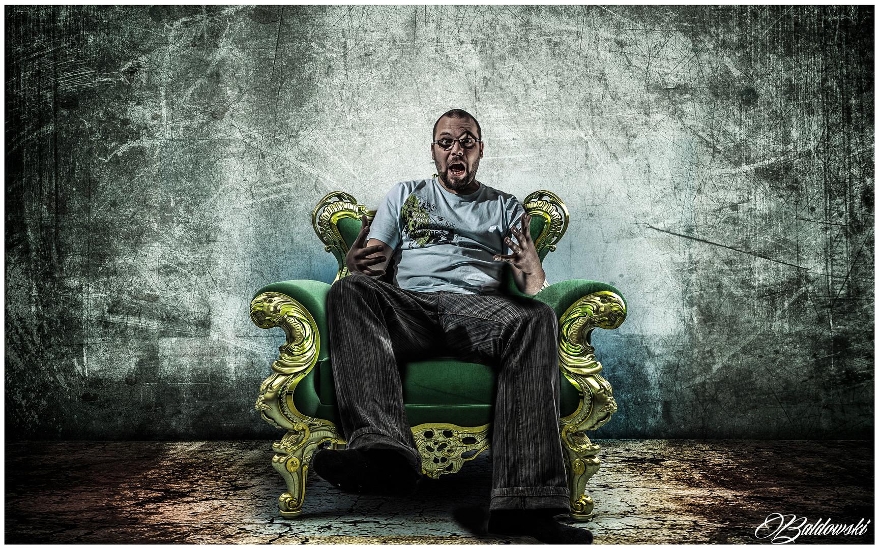 Der Grüne Stuhl