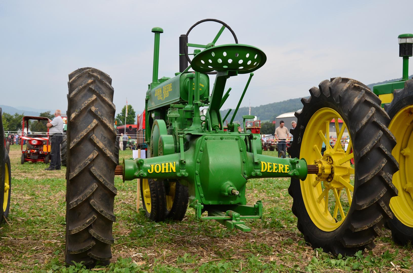 Der grüne Traktor