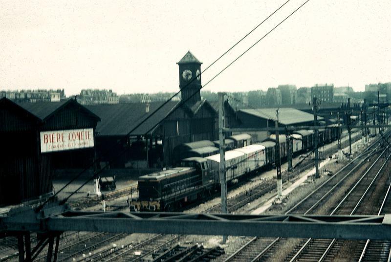 Der Güterbahnhof von Paris-La Villette