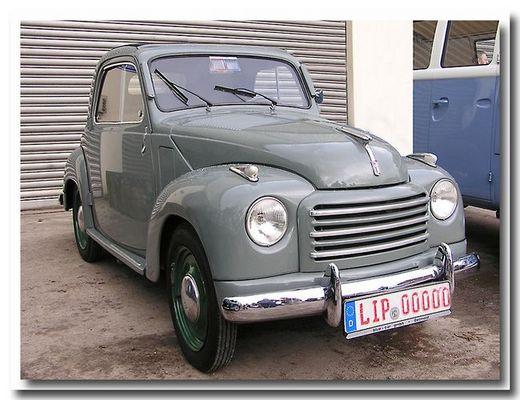"""Der gute alte Fiat """"Topolino"""""""