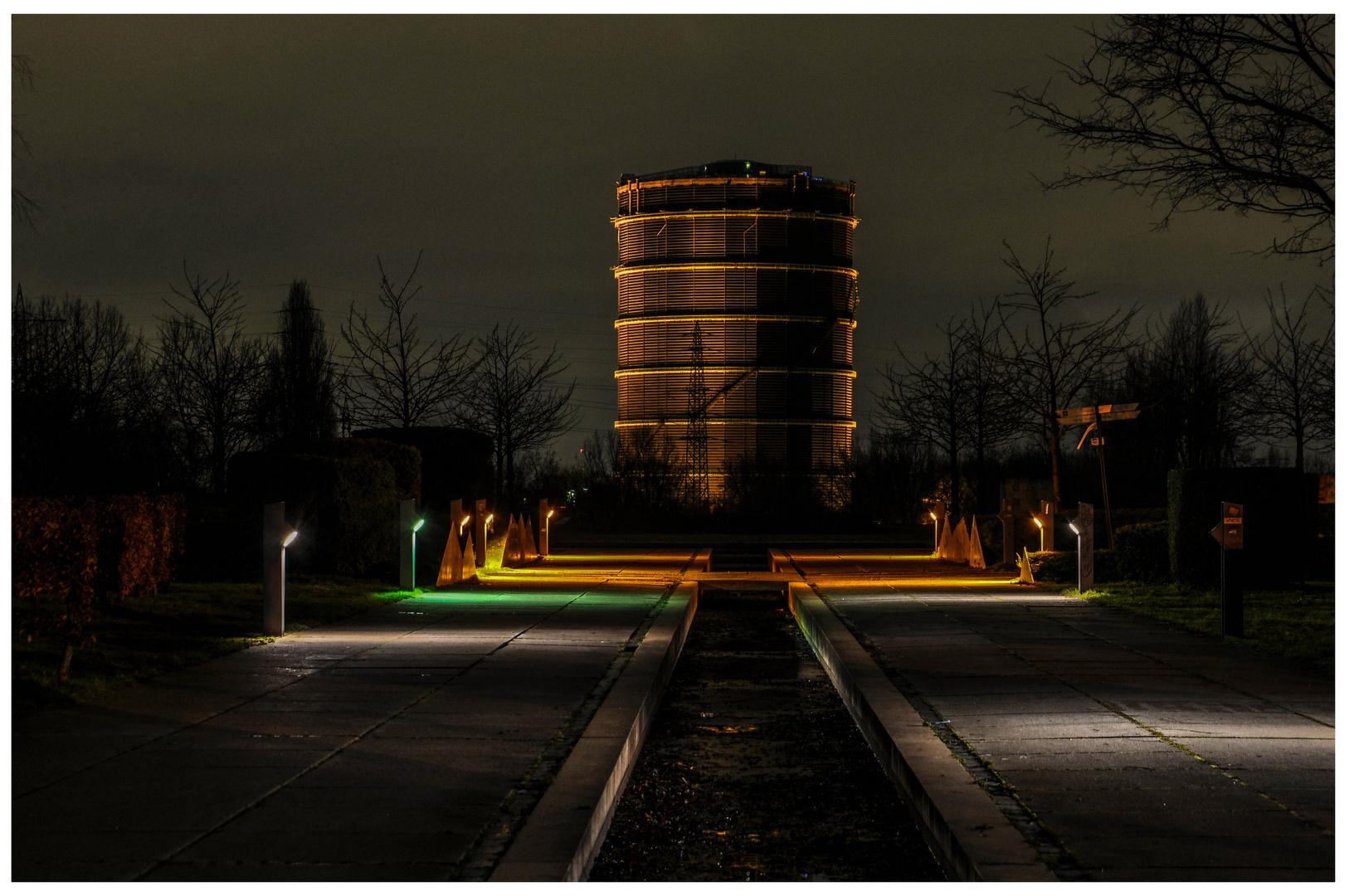 Der gute, alte Gasometer.......