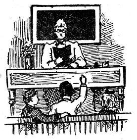 der gute (?) alte Unterricht - Westrich und überall