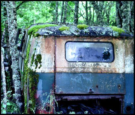 der gute alte VW T1 Bus...