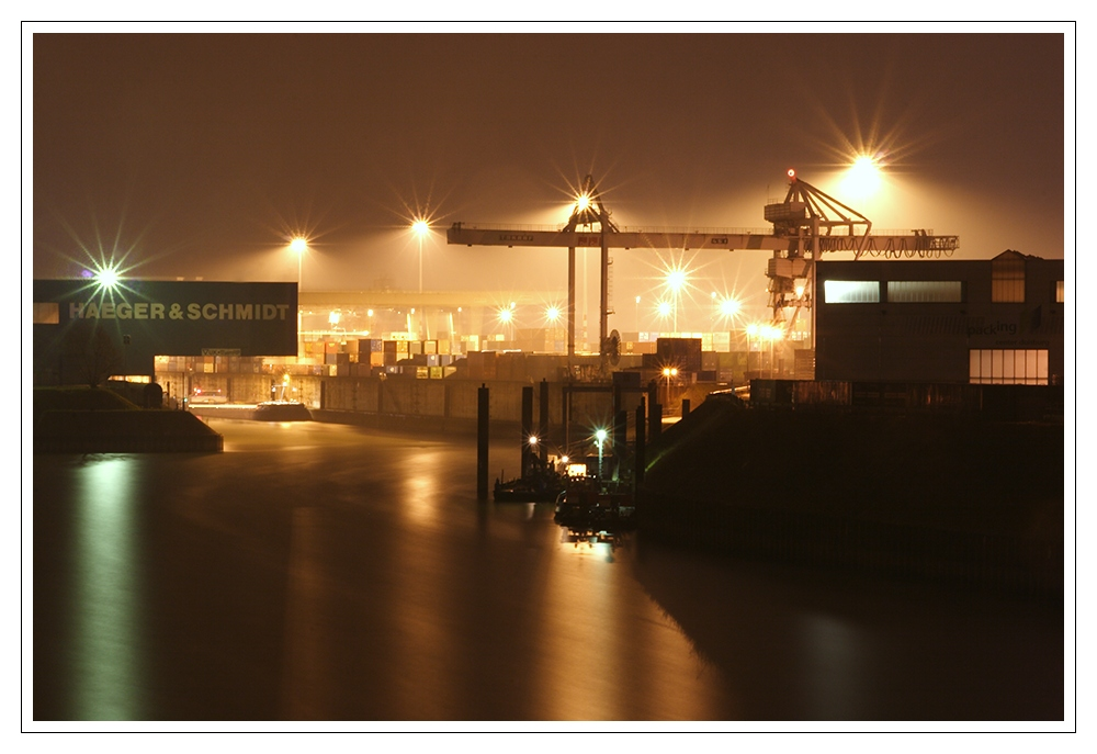 ...der Hafen