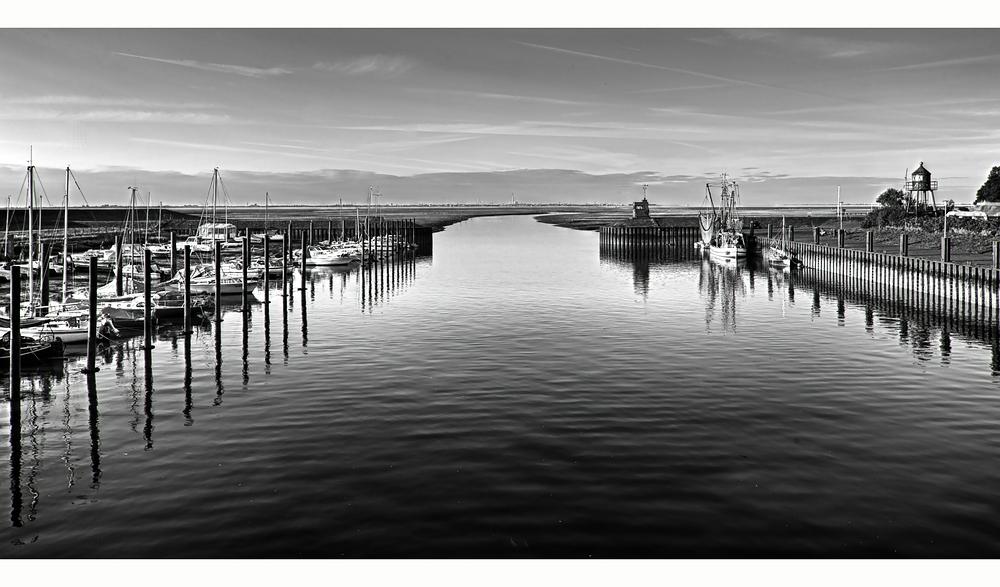 Der Hafen in Dangast