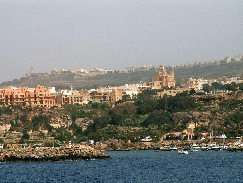 Der Hafen in Mgarr auf Gozo