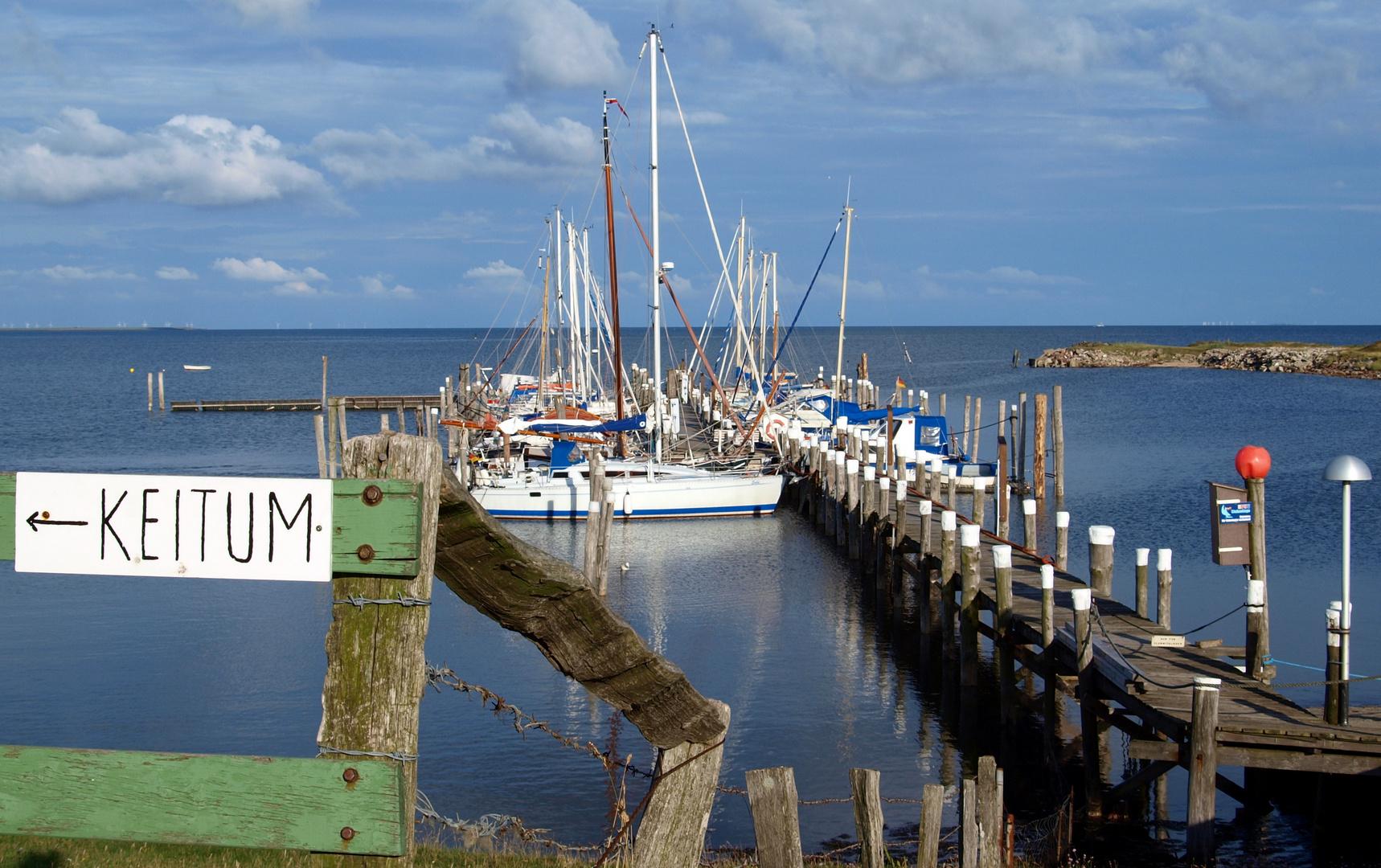 Der Hafen in Rantum