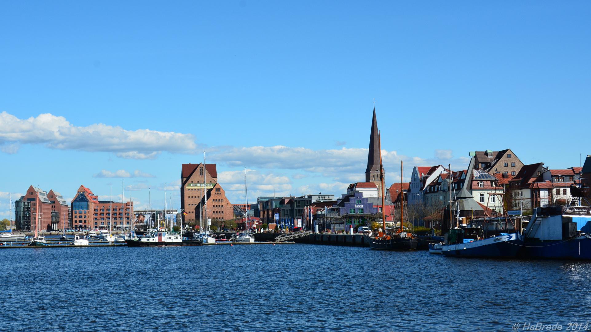 Der Hafen in Rostock