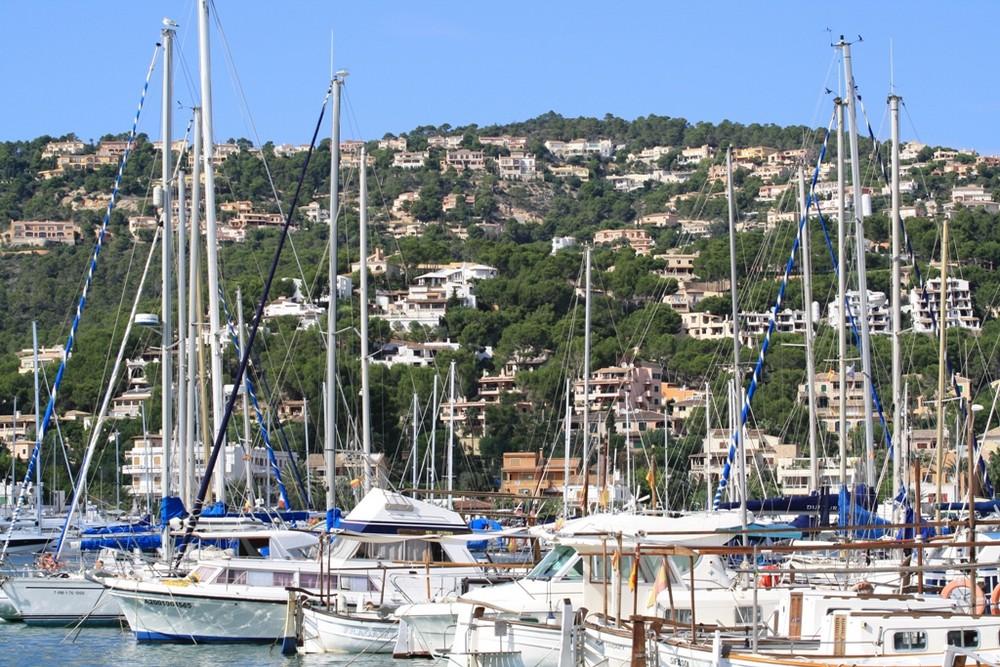 Der Hafen von Andratx