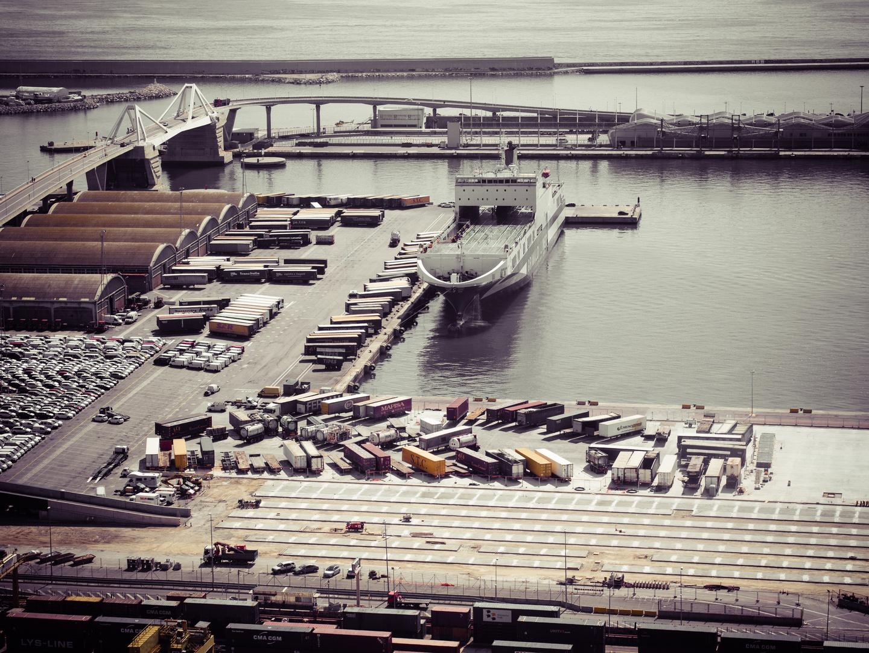 Der Hafen von Barcelona (2)