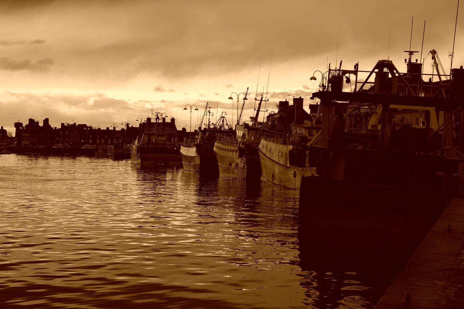 Der Hafen von Barfleur