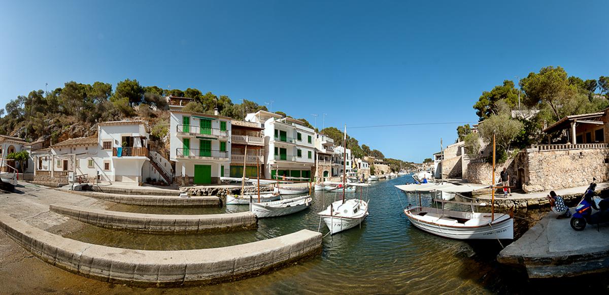 Der Hafen von Cala Figuera
