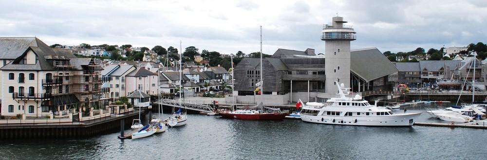 Der Hafen von Falmouth