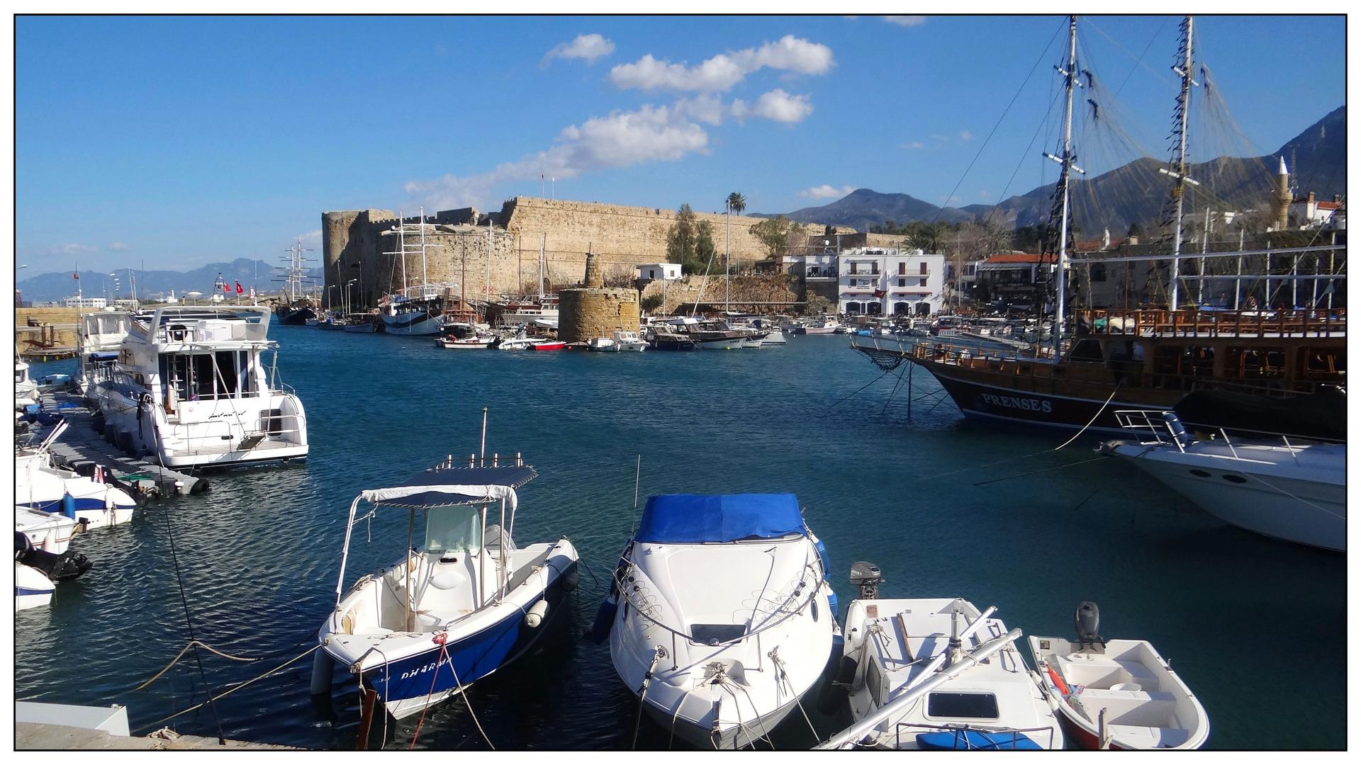 Der Hafen von Girne