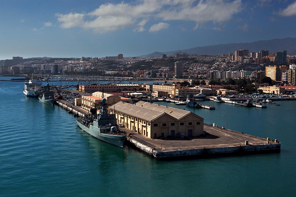 Der Hafen von Gran Canaria