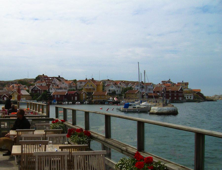 Der Hafen von Grundsund   (Schwedens Westküste)