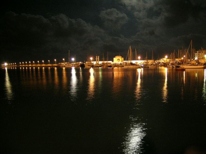 Der Hafen von Imperia Porto Maurizio