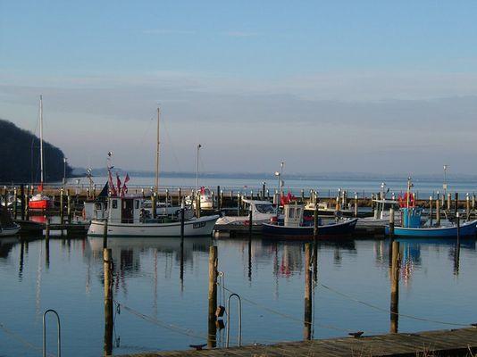Der Hafen von Langballig