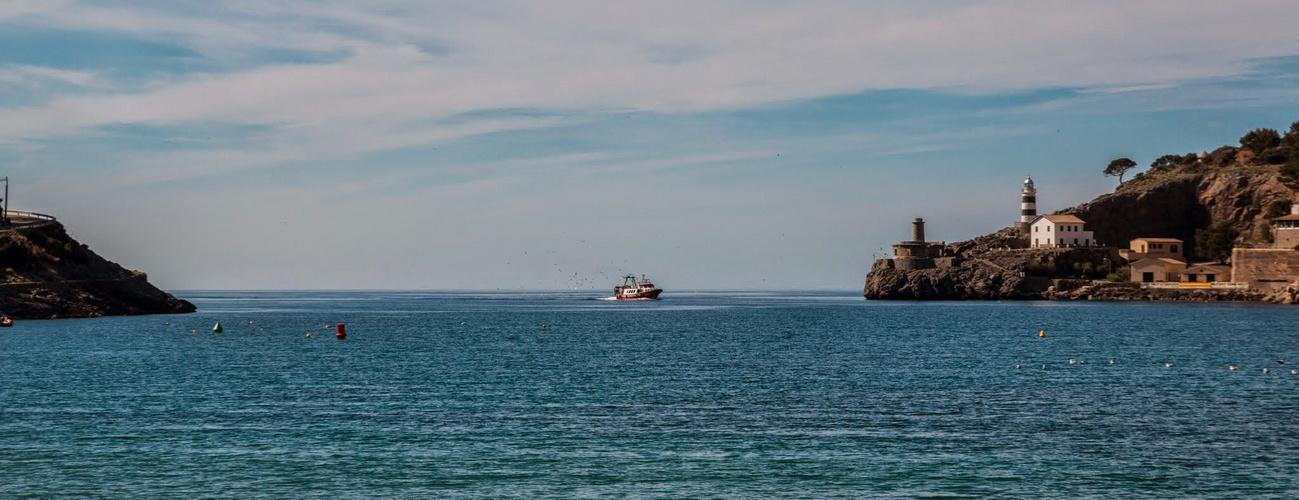 Der Hafen von Port Soller