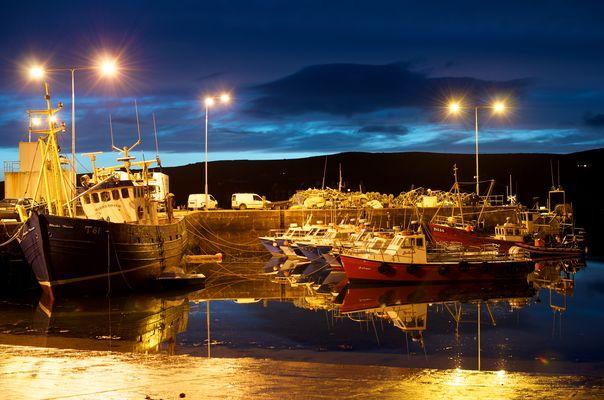 Der Hafen von Portmagee