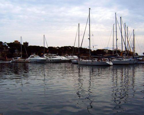 Der Hafen von Porto Cristo