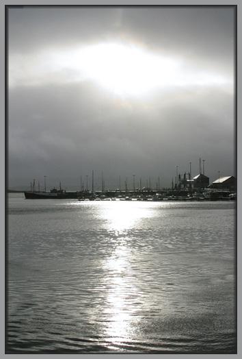 Der Hafen von Stromness, Orkney, Scotland, UK