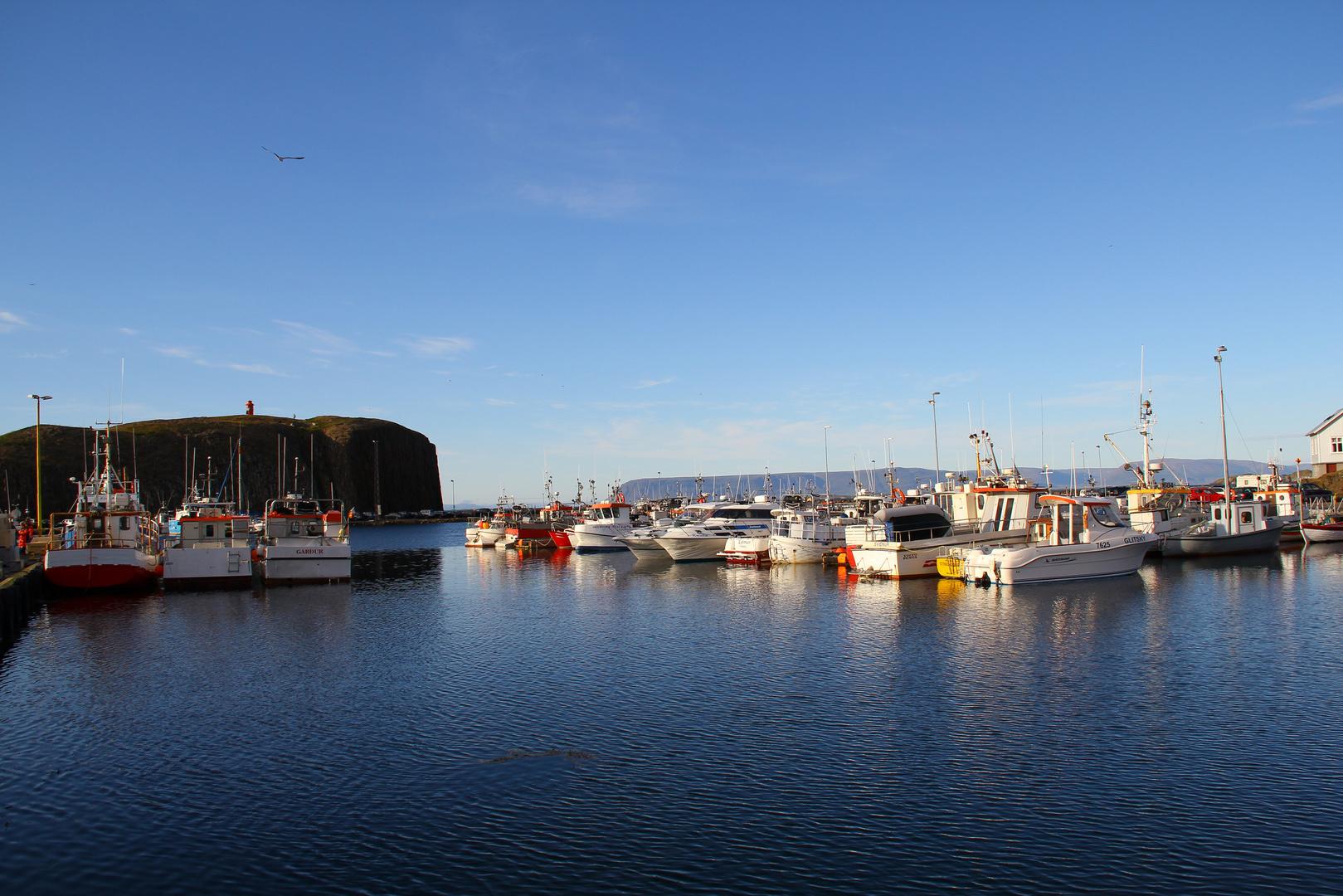 Der Hafen von Stykkisholmur