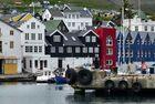 der Hafen von Torshavn