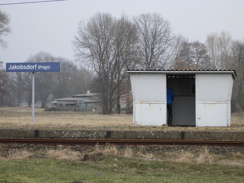 der halbe Fahrgast in Jakobsdorf (Prignitz)