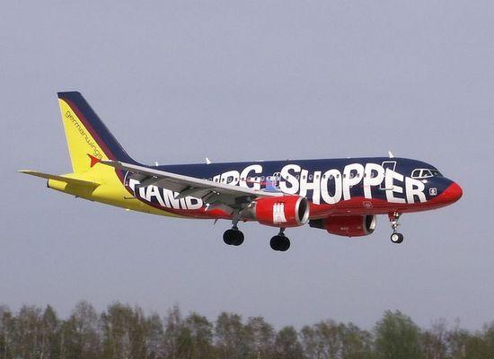 Der Hamburg Shopper von German Wings