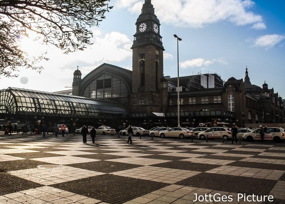 Der Hamburger Hauptbahnhof.