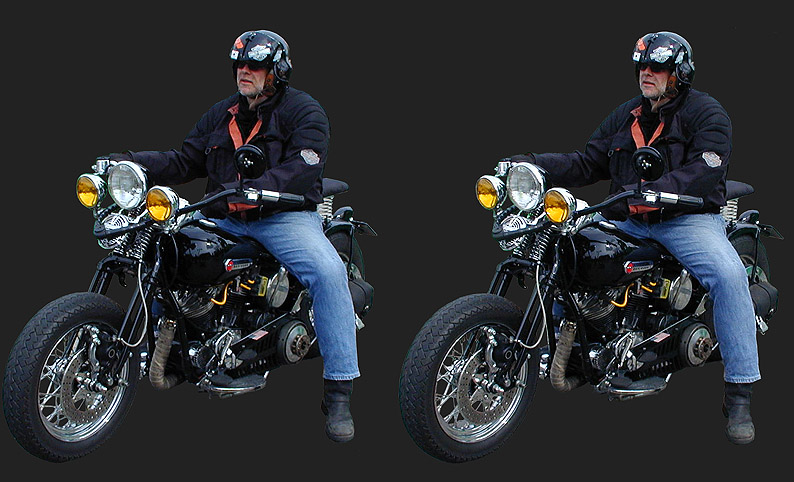 Der HarleyMann 3D