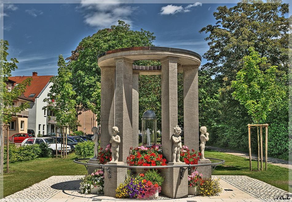 Der Hassia-Quellentempel in Bad Vilbel