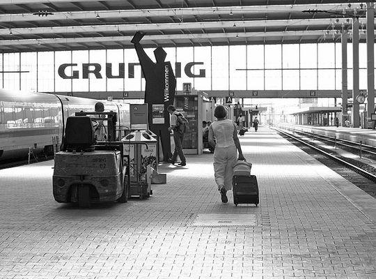 Der Hauptbahnhof in München