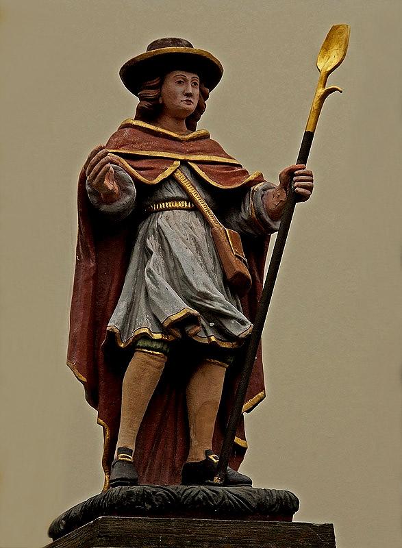 Der Heikige Wendalinus als Hirte ....