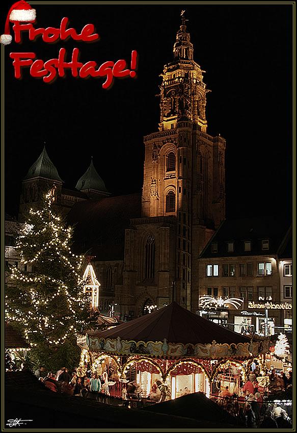 der Heilbronner Weihnachtsmarkt