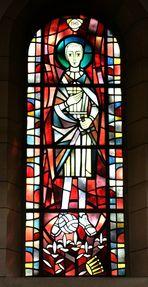Der Heilige Aloisius mit dem Fußball