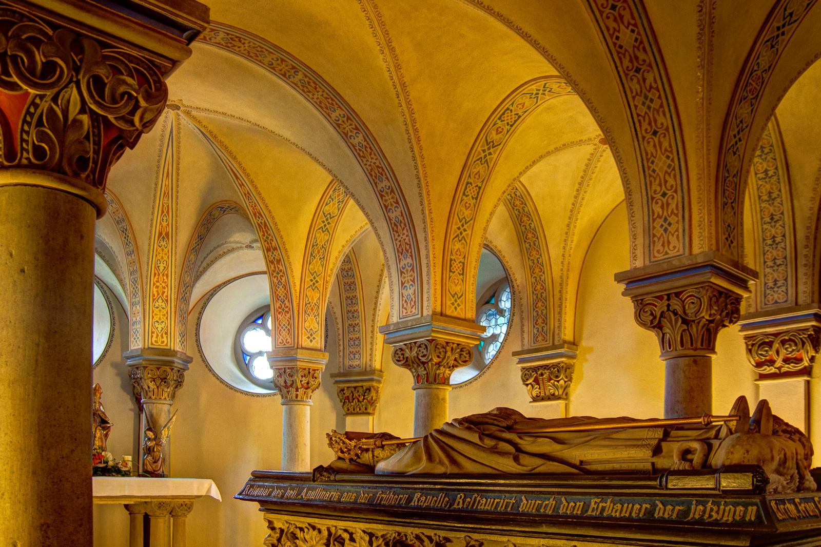 Der heilige Apollinaris in Remagen