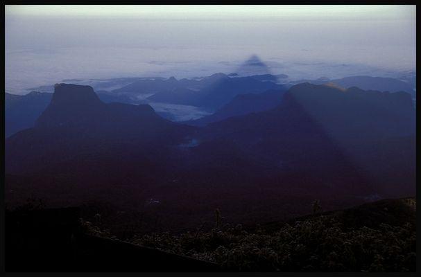 Der heilige Berg (Adam's Peak)
