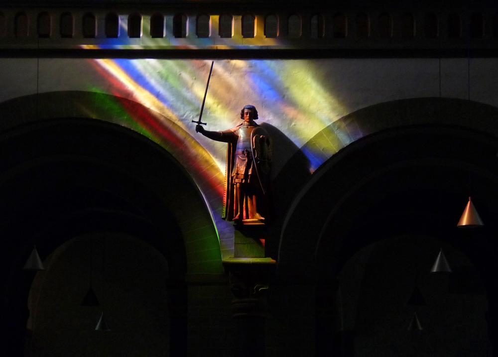 Der heilige Patroklus in seiner Kirche in Soest