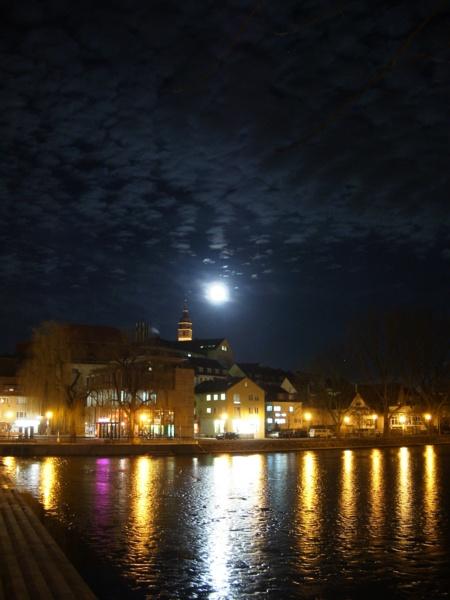 der helle Mond