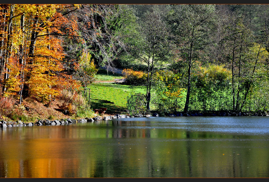 der Herbst malt....