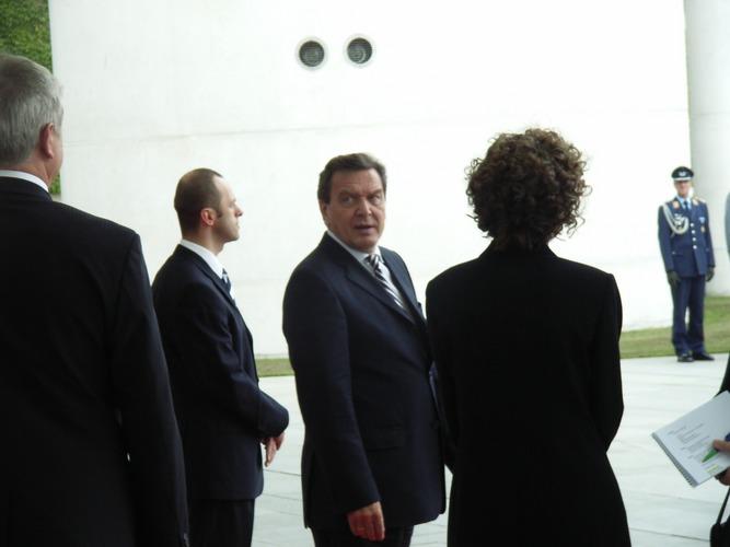 Der Herr Schröder wieder