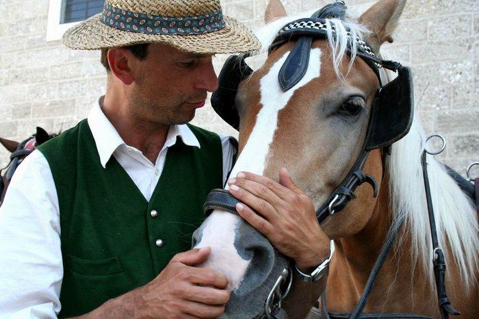 Der Herr Willi und sein Lieblingspferd Jacky