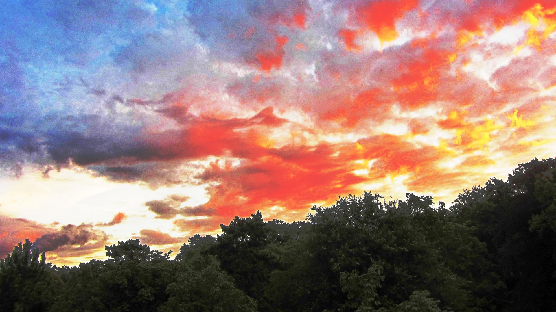 Der Himmel brannte - 2