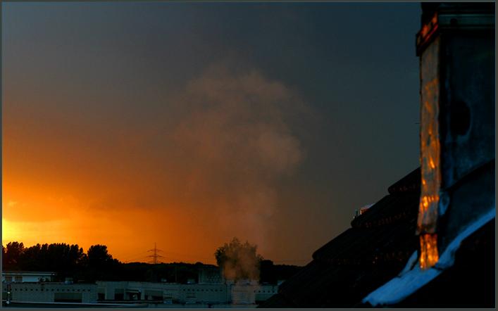 Der Himmel brennt & der Nachbar heizt schon...