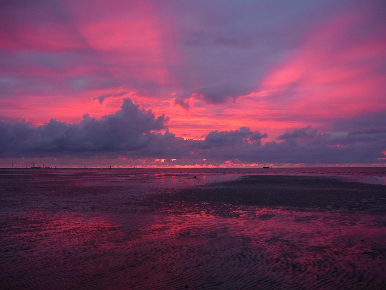 der Himmel brennt (Nordsee)